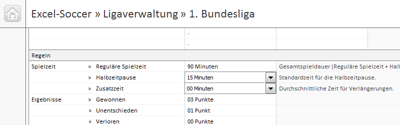 Excel-Soccer